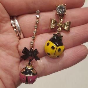 Betsey Ladybug earrings